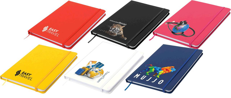 Carnival A5 Notepad