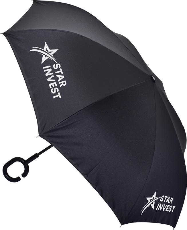 Inverter Umbrella with C Handle