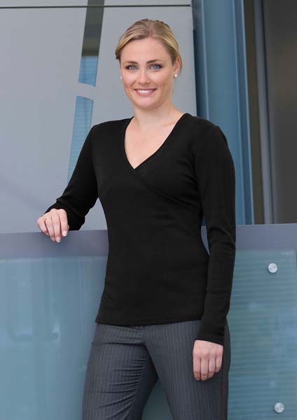 Merino Crossover Top