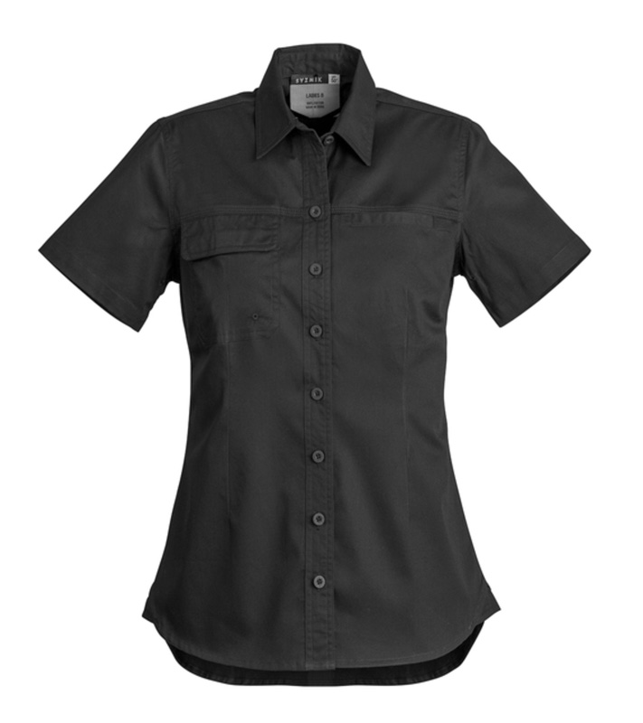 Syzmik Ladies Lightweight Short Sleeve Tradie Shirt