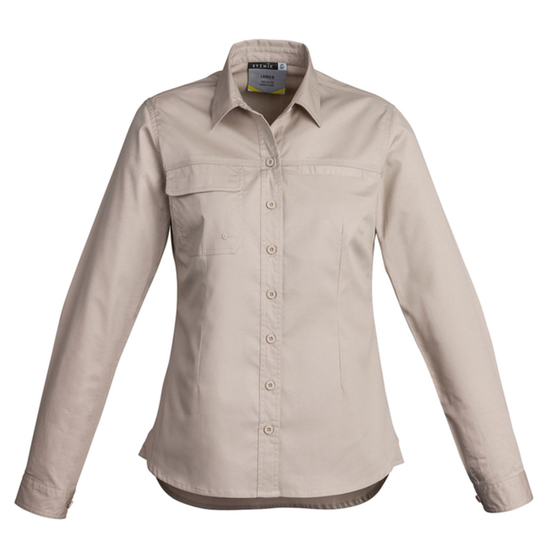 Syzmik Ladies Lightweight Long Sleeve Tradie Shirt